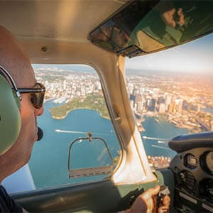 Central Coast Aero Club Simon Sydney harbour