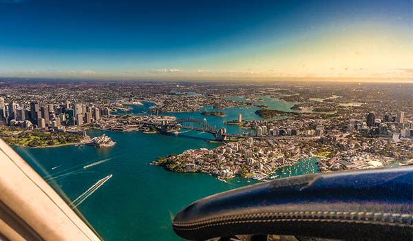 Central Coast Aero Club Sydney Harbour Joy Flight